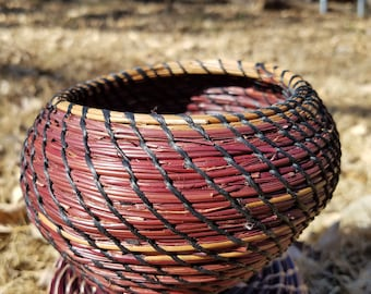 Gorgeous Pine needle basket