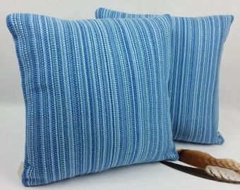 Handwoven pillow Down filled