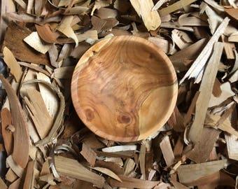 Hand Craft Cherry Wood Bowl