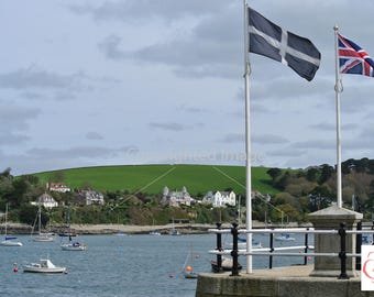 Flying Flags in Falmouth, Cornwall