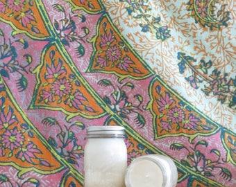 Mason Jar Natural Soy Wax Candle (Pint- 16 ounce)
