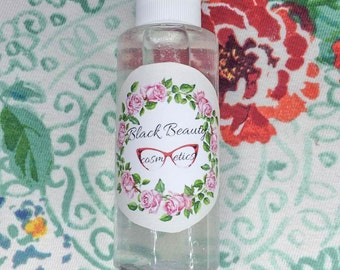 Rose water and Witch Hazel - FACIAL TONER // anti redness // all skin types // all natural