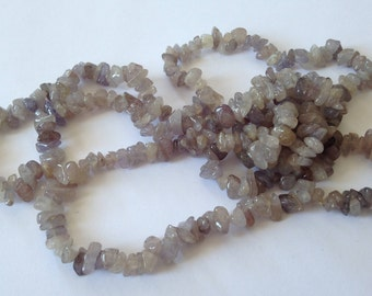 Vintage NECKLACE, nice color, natural, 90 cm, 52 g