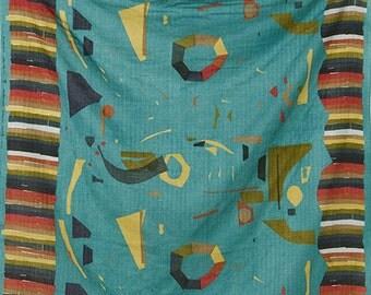 Nani Iro Japanese Fabric  Kokka WONDER WORLD Double Gauze - calm - 50cm