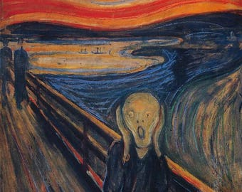 Edvard Munch Scream print
