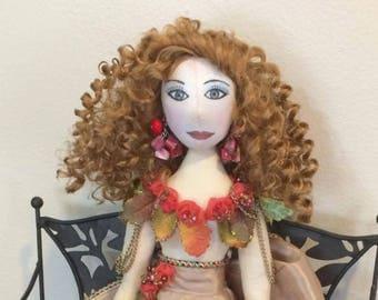 Autumn: Custom Fashion Doll by Mio