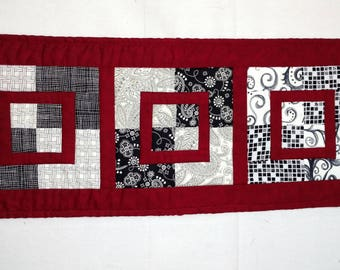 Custom Quilted Squared Table Runner