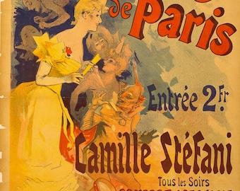 Casino de Paris print poster.
