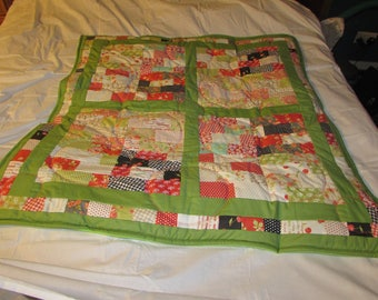 Patchwork Lap quilt/throw