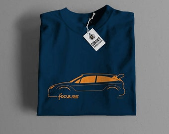T-shirt Ford Focus RS Wrc Rally | Gent, Lady and Kids | all the sizes | worldwide shipments | Car Auto Voiture