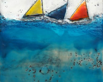 Sailboats IV