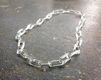 Handmade Glass Chain