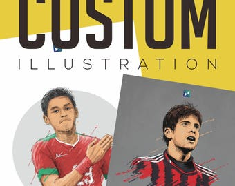 Custom Illustration / Wall Art to decorate your wall