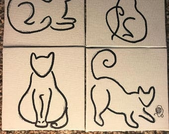Cat Canvas