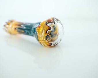 Spastic Fantastic Glass Tobacco Pipe