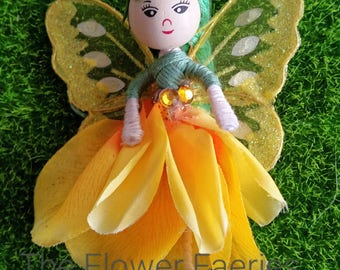 Flower Fairy - Pretty yellow