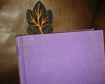 Bookmark - Leaves