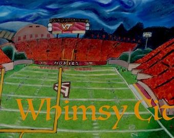Lane Stadium at Virginia Tech
