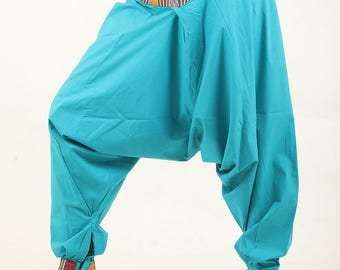 Harem pants Teal yoga pant trouser NEPALI pocket pyjamas