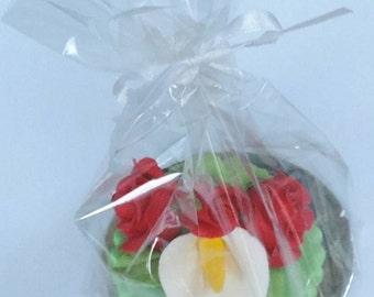 Cake Topper Floral - On Sale
