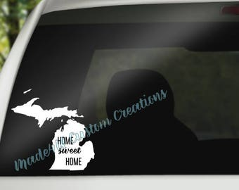 Michigan Car Decal