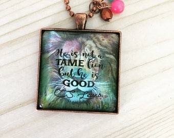 C.S. Lewis quote Pendant Necklace