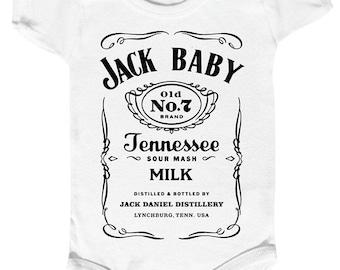 "Bodysuit baby ""JACK BABY"" creation 100 % monpremierbody"