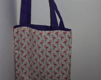 """""""Flamingo"""" tote bag"""