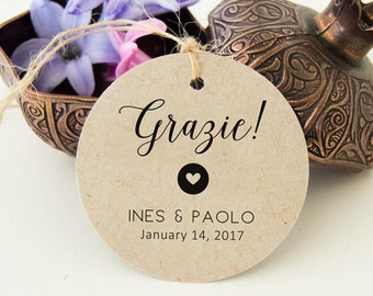 Labels newlyweds, Tags, labels, labels for Wedding Favors Thanks Kraft rustic style