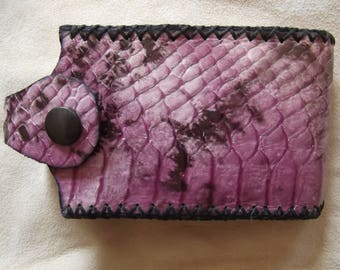Phone case cell leather, handcrafted