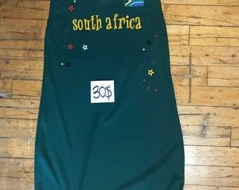 Black Vneck Girls South Africa Fitted Dress