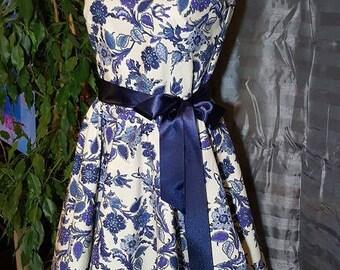 1 Provençal dress. HAND MADE.