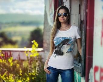 Orca Shirt Women's short sleeve Orca t-shirt