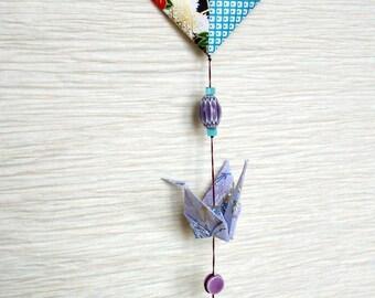 Hanging decorative origami