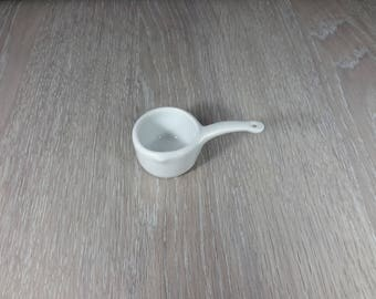 white porcelain Dollhouse Pan