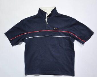 Vintage ELLESSE Botton Up Casual Shirt / ELLESSE Polo Shirt / 90s Ellesse / Ellesse Streetwear / Ellesse Pullover / ELLESSE Shirt