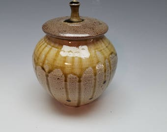 Salt fired listed Urn - Jar