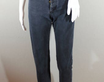 Vintage Lee jeans/waist 23 / mom jeans, high waisted, tapered leg