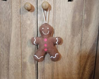 Little gingerbread man hanging