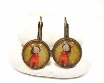 Earrings round IMP