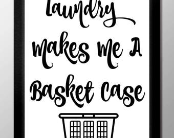 Laundry Makes Me A Basket Case
