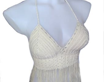 Handmade Crochet Bustier