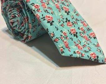 Skyflower Necktie