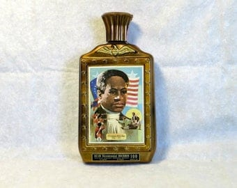 Jim Beam Collectible Bourbon Bottle Crispus Attucks Boston Massacre Bicentennial Collection Beam Distillery Limited Edition Black History