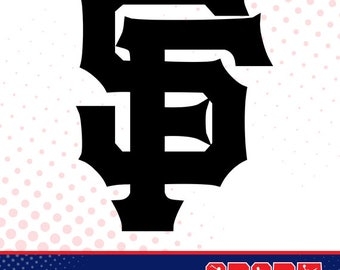San Francisco Giants silhouette, sport silhouettes, Baseball silhouette SS-BB-009
