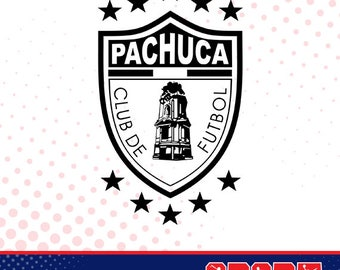 Pachuca silhouette, sport silhouettes, Soccer silhouette SS-SO-032