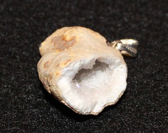 Small Geode Pendant