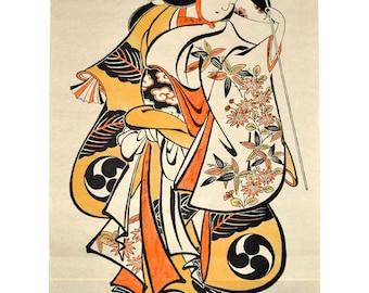 Takenaka Shodayu (Torii Kiyonobu)