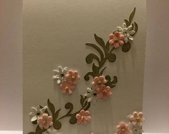 Floral Flourish card