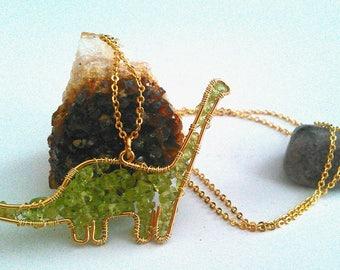 Peridot Brachiosaurus